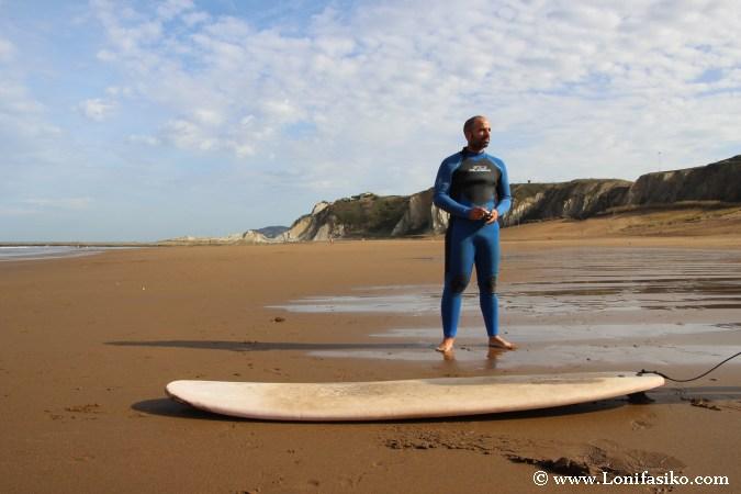 Surf en en País Vasco