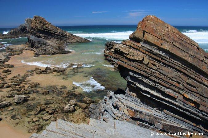Formaciones geológicas en Portuga