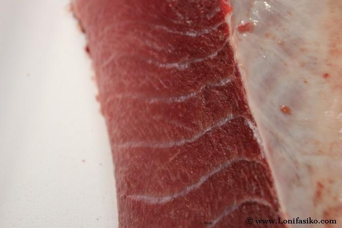 Ventresca atún rojo almadraba Fotos