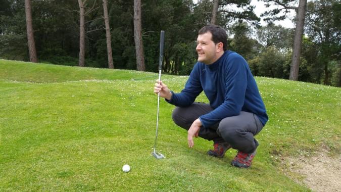 Jugador amateur de golf