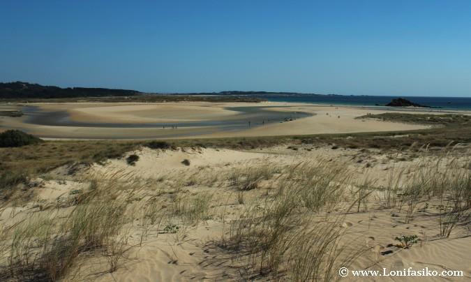 Corrubedo Galicia Fotos Dunas Playa