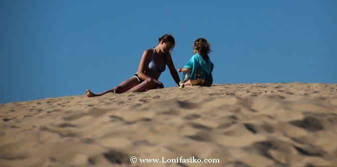 Viajes con niños playa España