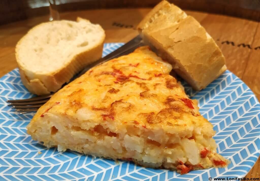 Tortilla de patatas en Haro