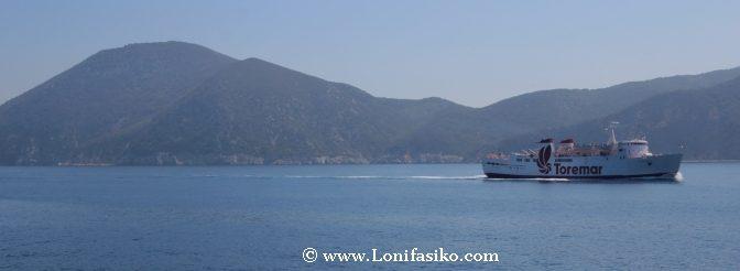Ferry coche isla Elba Italia