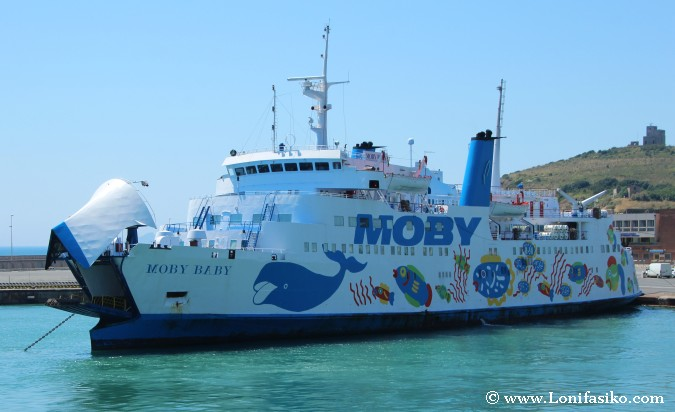 Ferry Moby Lines Elba