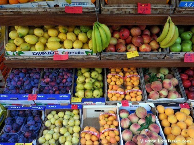 Isla Elba precios alimentos