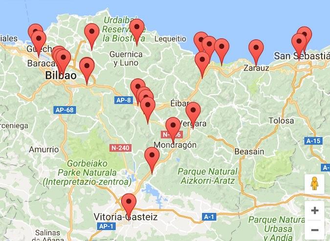 Donde Comer En Euskadi Restaurantes En Pais Vasco Lonifasiko