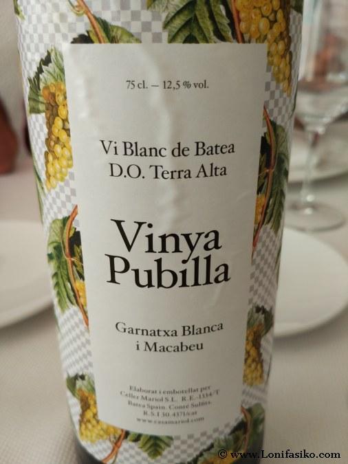 Vinya Pubilla Terra Alta
