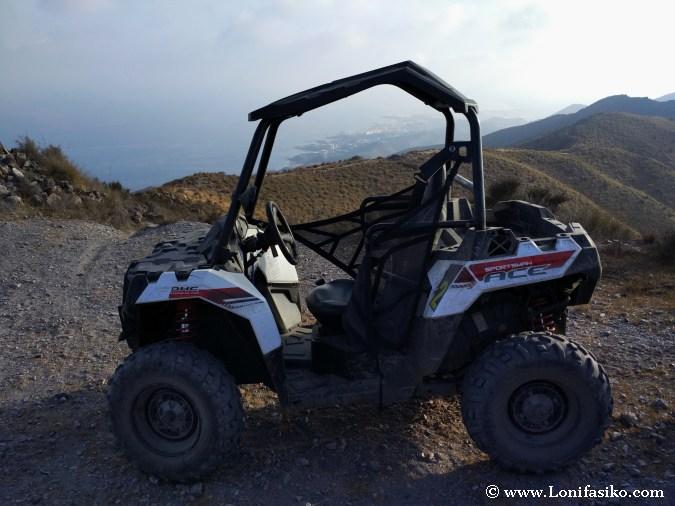 Buggy 4x4 Almería excursiones