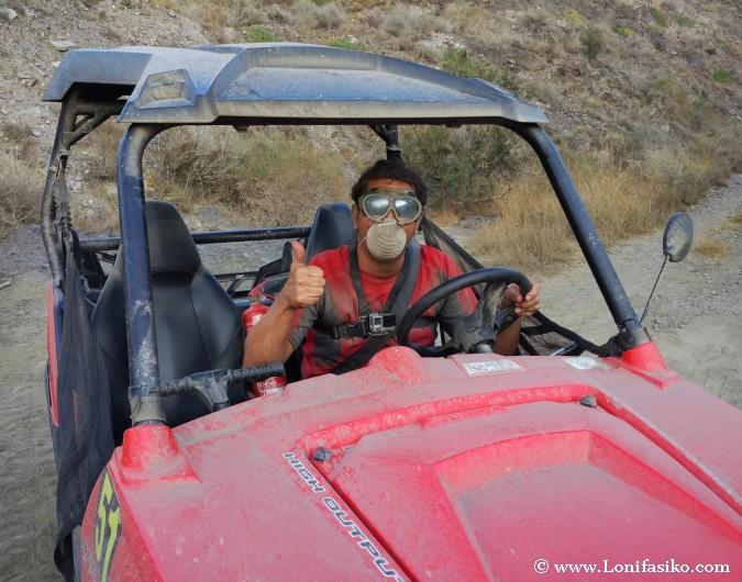Rutas 4x4 buggy Almería rutas Andinas aventura