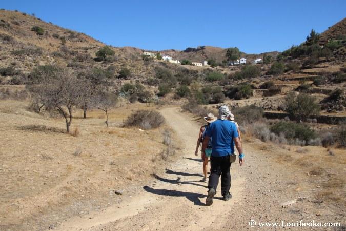 Ruta senderismo Bédar Serena