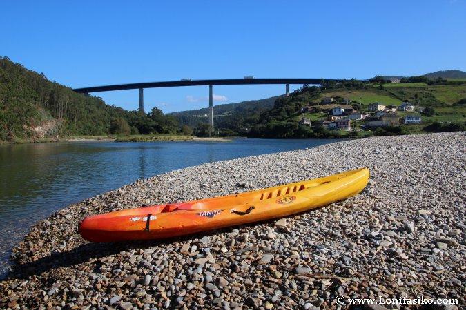 Río Esva playa de la Cueva Asturias Fotos