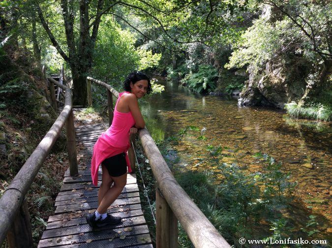 Hoces río Esva Asturias Fotos Senderismo