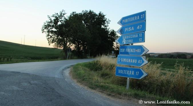 Roadtrip Toscana en coche