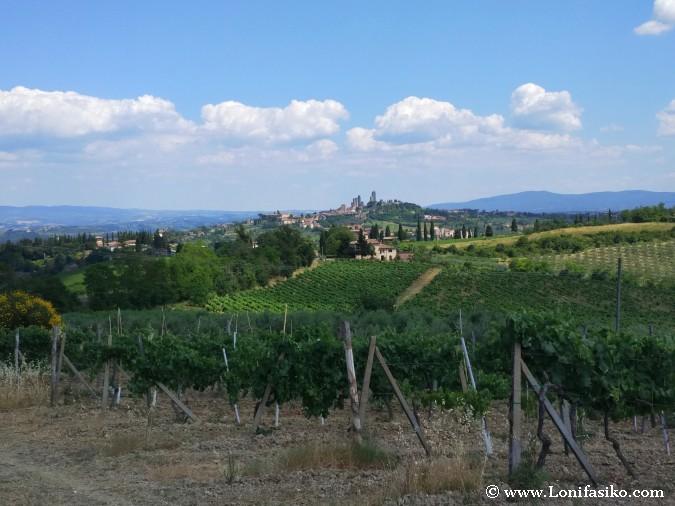 San Gigminano Toscana fotos