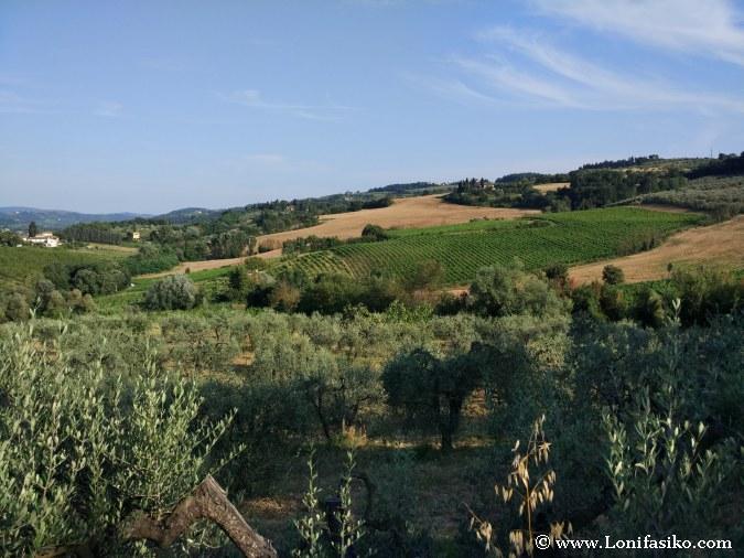 Toscana paisajes fotos