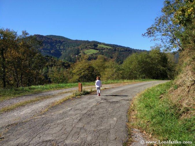 Ruta embalse Ibai-Eder Azpeitia Fotos