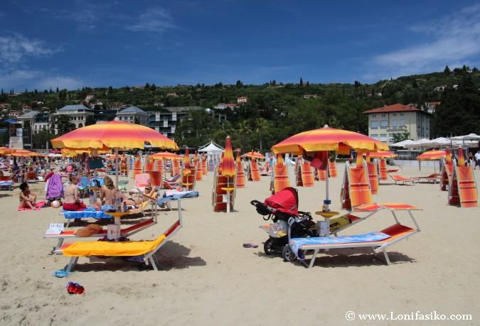 Eslovenia playas Portoroz