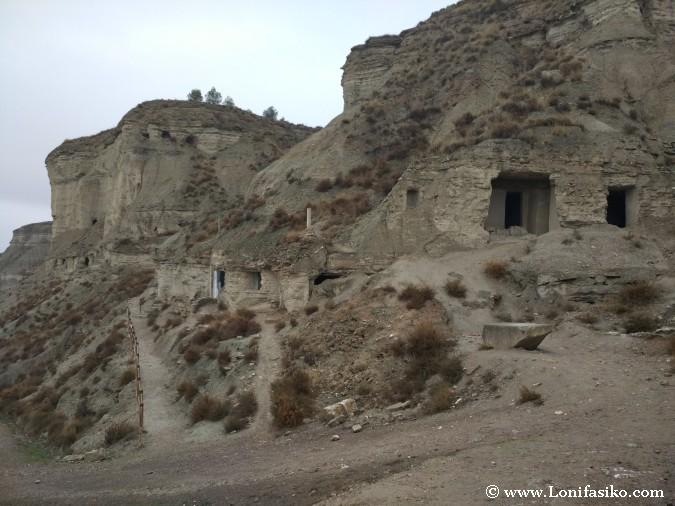 Casas-cuevas Arguedas fotos