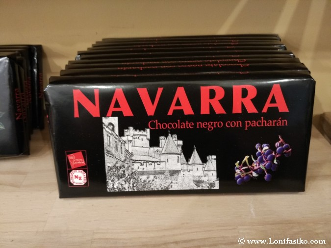 Chocolate sabor pacharán navarra