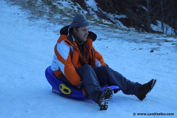 trineo nieve fotos
