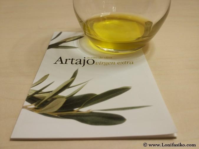 Cata aceite oliva virgen extra Aceite Artajo Navarra