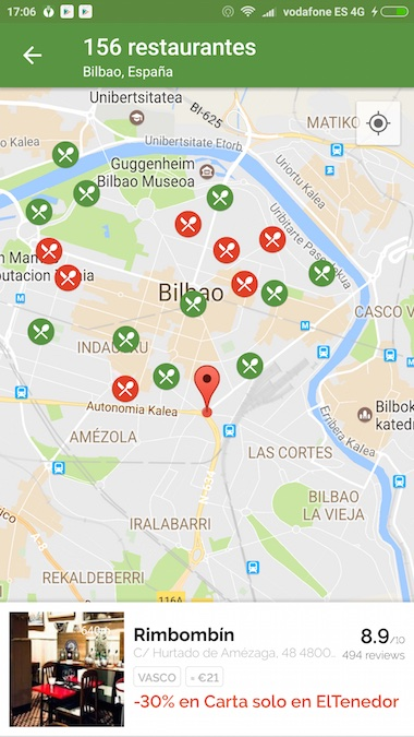 ElTenedor App Reservar Restaurantes