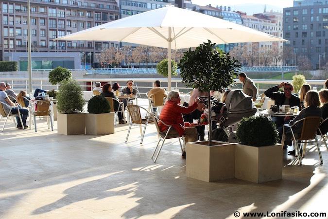 Bar bistro Guggenheim Bilbao Fotos