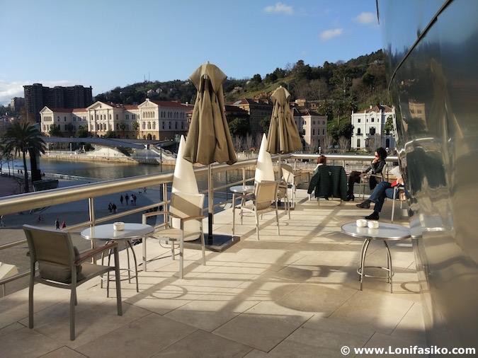 Bistró Guggenheim Bilbao restaurante fotos