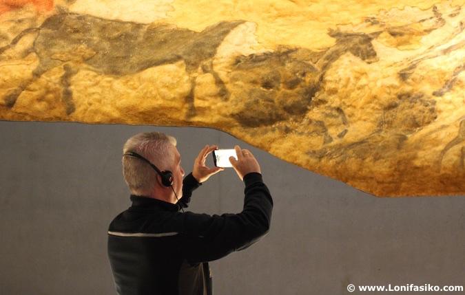 replica lascaux cueva fotos
