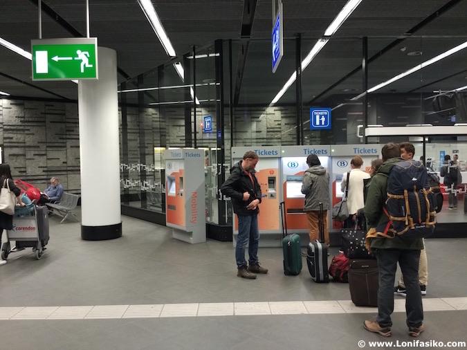 Aeropuerto Bruselas Centro Tren Cómo ir