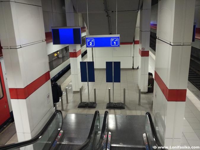Indicaciones Aeropuerto Bruselas Centro Tren Cómo ir