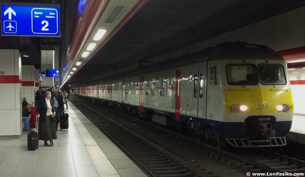 Cómo Ir Del Aeropuerto Bruselas Zaventem Al Centro En Tren Lonifasiko