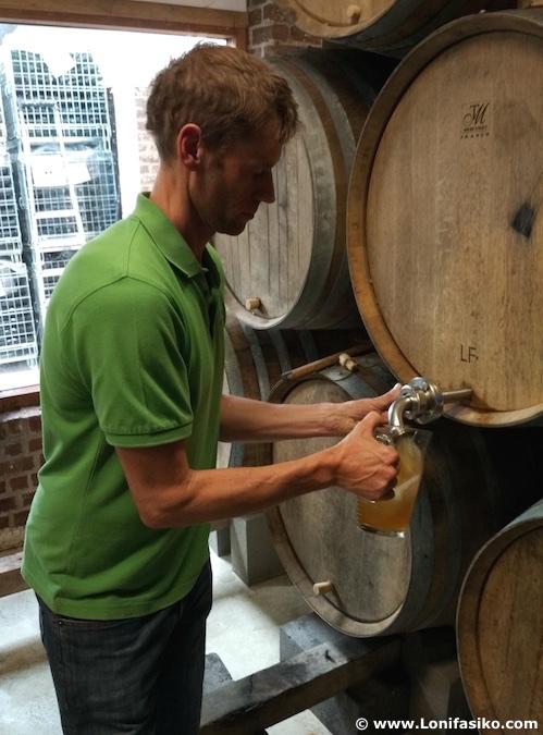 tour de geuze de cam brewery