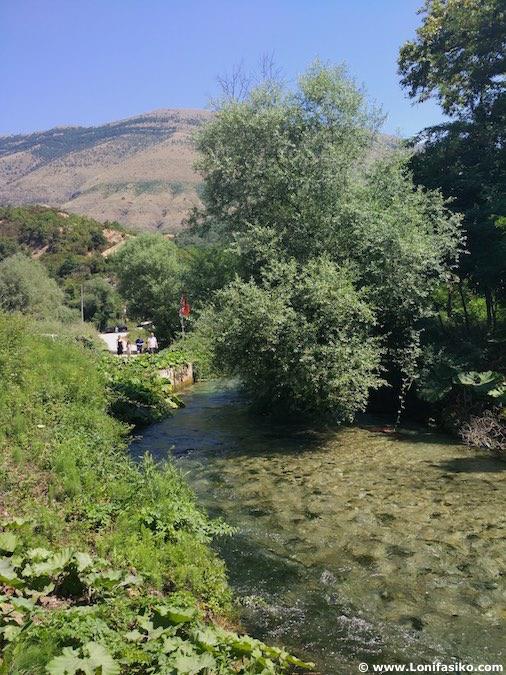 Río Bistrice Albania