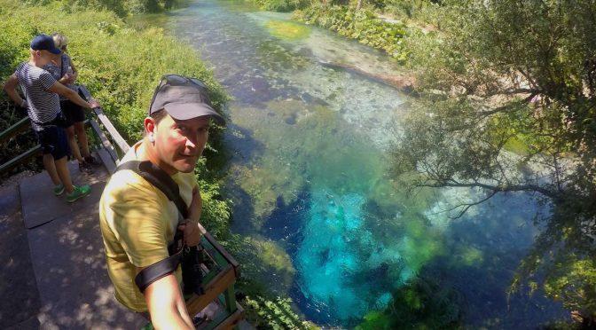Blue Eye, la misteriosa surgencia de la que mana el agua más pura de Albania
