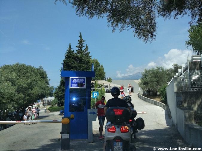 Sveti Stefan Montenegro aparcar