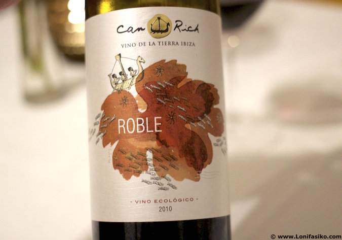 Can Rich ibiza vino tinto roble