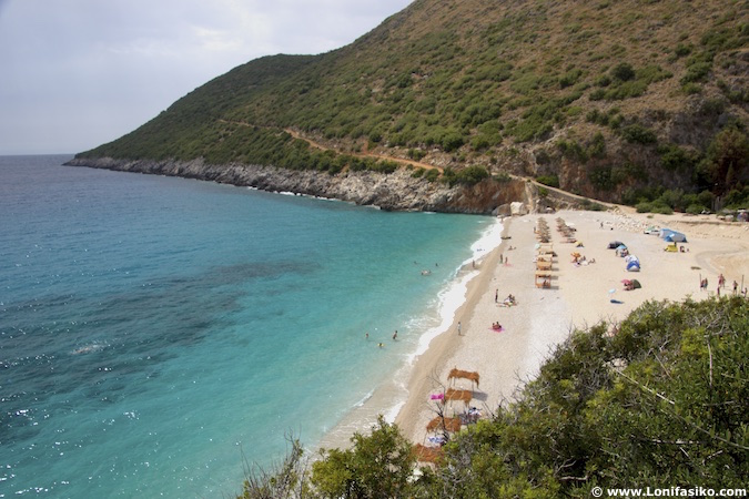 gjipe beach albania playas fotos