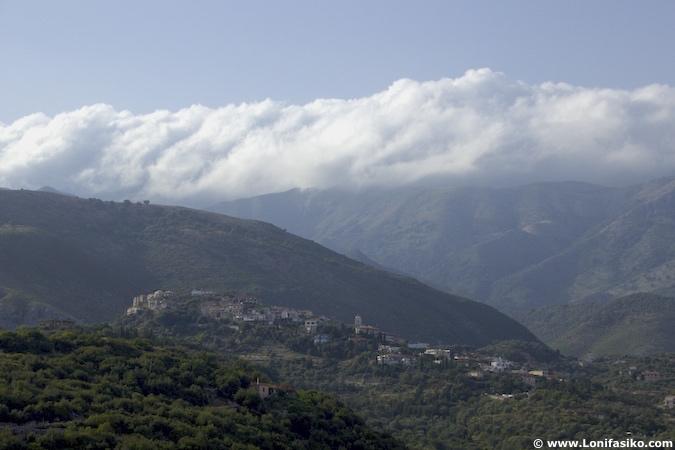 himare albania riviera albanesa mountains