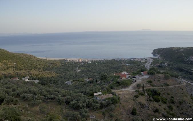 Livadh playa beach albania riviera albanesa