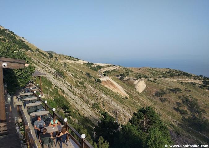 llogara pass albania fotos