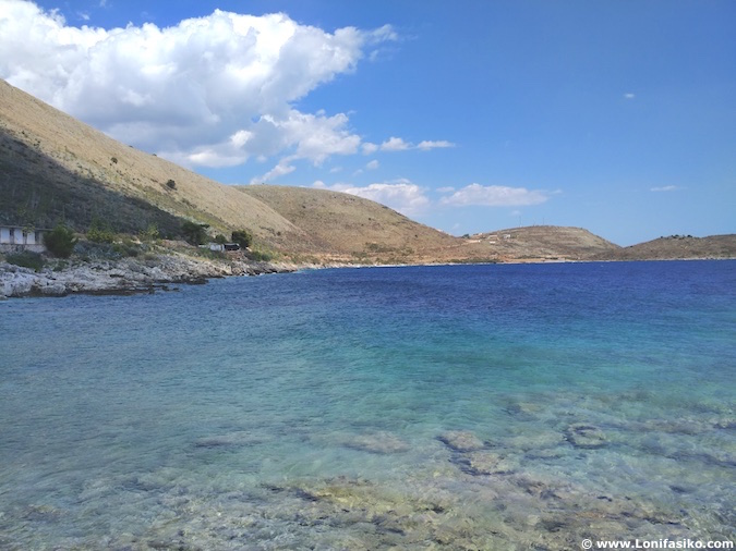 riviera albanesa playas fotos agua