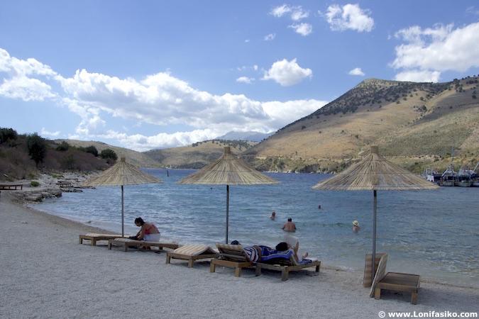porto palermo beach albania riviera albanesa playas
