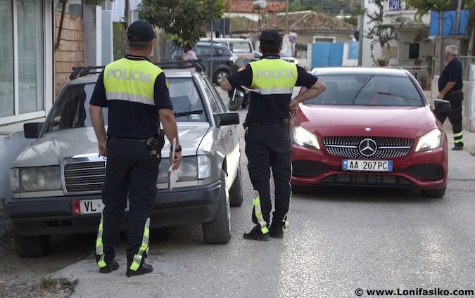 albania policia conducir
