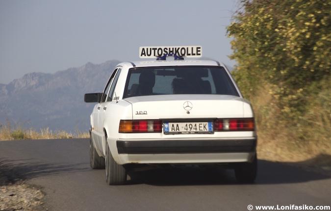 albania permiso carnet de conducir