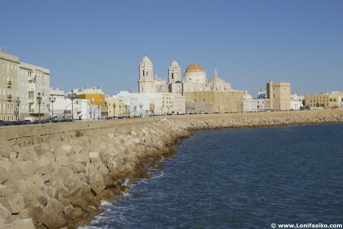 cadiz catedral fotos paseo marítimo