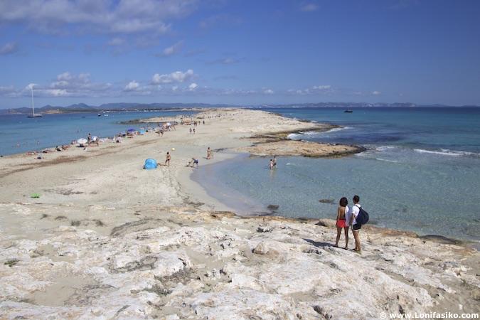 playas formentera ses illetes