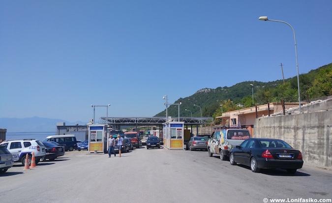 frontera Albania Montenegro