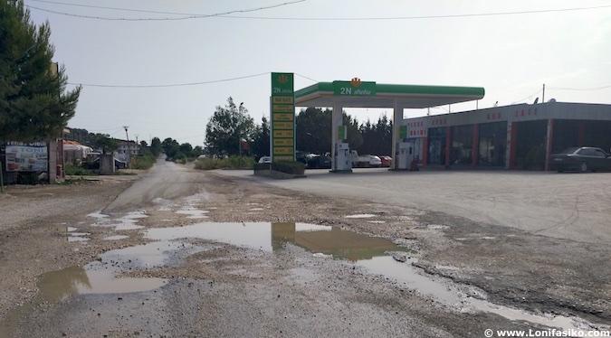 carreteras de albania